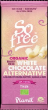 Plamil Organic Dairy Free White Chocolate Alternative 70g